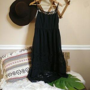 Band of Gypsies black lace dress 026